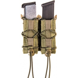 High Speed Gear Triple TACO pouches for GBB Airsoft Pistols - OD GREEN