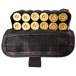 High Speed Gear Shotgun Shell Pouch w/ Belt Attachment - BLACK