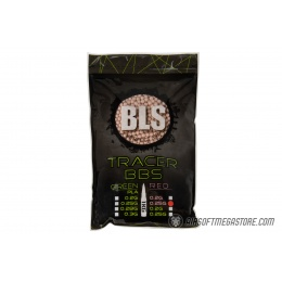 BLS Perfect BB 0.25g Tracer Precision Airsoft BBs [4000rd] - RED