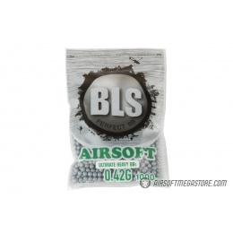 BLS Perfect BB 0.42g Ultimate Heavy Airsoft BBs [1000rd] - STEEL