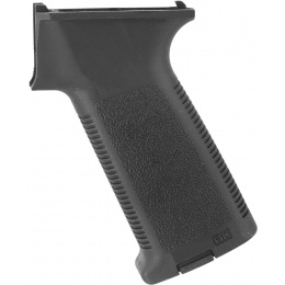 E&L Airsoft AK Series Textured Tactical Motor Grip - BLACK