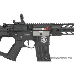 Lancer Tactical Enforcer BATTLE HAWK AEG [HIGH FPS] w/ Alpha Stock - BLACK