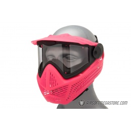 G-Force F2 Single Layer Full Face Mask - PINK