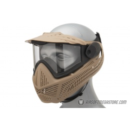 G-Force F2 Single Layer Full Face Mask - TAN