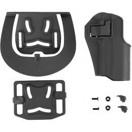 G-Force Polymer Hard Shell Holster for TM Night Warrior Airsoft Pistol - BLACK