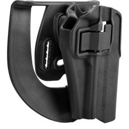 G-Force Polymer Hard Shell Holster for TM Night Warrior Airsoft Pistol - BLACK