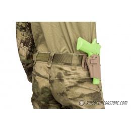 G-Force Polymer Hard Shell Holster for TM Night Warrior Airsoft Pistol - DARK EARTH
