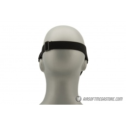 G-Force Ventilated Discreet Half Face Mask - BLACK