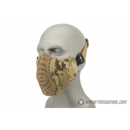 G-Force Ventilated Discreet Half Face Mask - CAMO