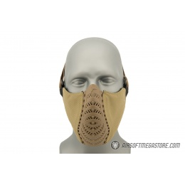 G-Force Ventilated Discreet Half Face Mask - DARK EARTH