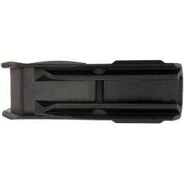 G-Force Picatinny Grooved Angled Foregrip - BLACK