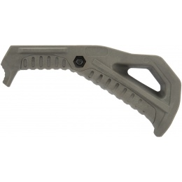 G-Force Picatinny Grooved Angled Foregrip - FOLIAGE GREEN
