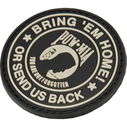 G-Force Bring Them Home or Send us back PVC Morale Patch