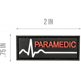 G-Force Paramedic PVC Morale Patch