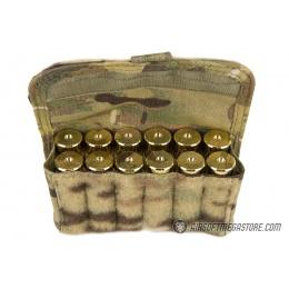 High Speed Gear Shotgun Shell Pouch w/ MOLLE - MULTICAM