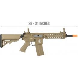 Lancer Tactical LT-24 ProLine Series CQB M4 AEG Rifle [HIGH FPS] - TAN