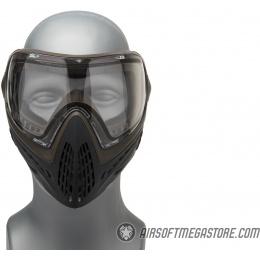 G-Force Modern Full Face Mask - GRAY/BROWN