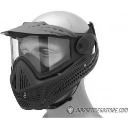 G-Force F2 Single Layer Full Face Mask - BLACK