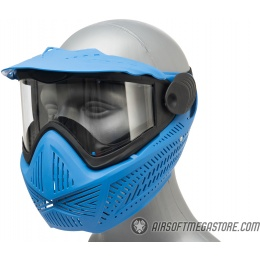 G-Force F2 Single Layer Full Face Mask - BLUE