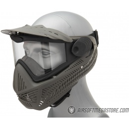 G-Force F2 Single Layer Full Face Mask - FOLIAGE GREEN