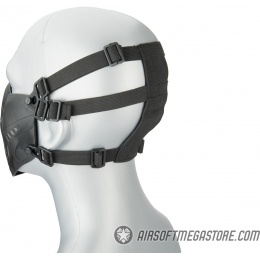 Lower Attack Face Protection - BLACK