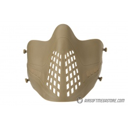 Lower Attack Face Protection - TAN