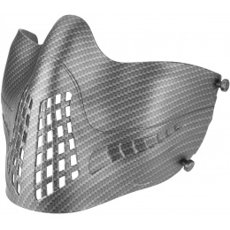 Lower Attack Face Protection - CARBON FIBER