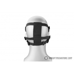 Lower Attack Face Protection - CAMO BLACK
