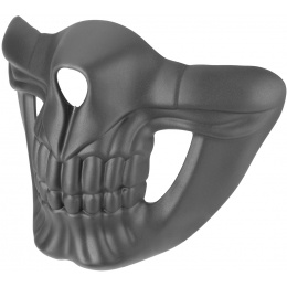 Lower Skull Mask Face Protection - BLACK
