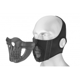 Lower Skull Mask Face Protection - BLACK