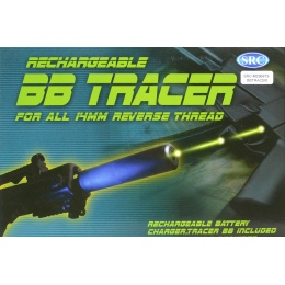 SRC Airsoft Metal Full Auto Rechargeable Tracer Unit - 14mm CCW