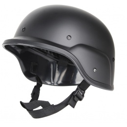 Police Army PASGT Riot Gear Tactical Helmet for Airsoft - Black