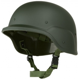 Police Army PASGT Riot Gear Tactical Helmet for Airsoft - OD Green