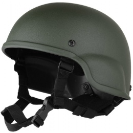 Police MICH 2000 Replica Tactical Helmet For Airsoft - OD Green