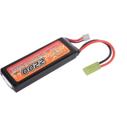 VB-Power Airsoft 7.4V 2200 mAh 15C Lithium Polymer LIPo Mini Battery