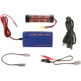 VB-Power Package: 9.6V 1600 mAh NiMH Mini Battery + Smart Charger