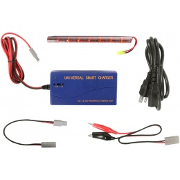 VB-Power Package: 9.6V 1600 mAh NiMH Stick Battery + Smart Charger