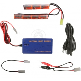 VB-Power 8.4V 1600 mAh Nunchuck Battery + Smart Charger