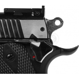 WG 1911 US Combat Airsoft CO2 Non Blowback Pistol - TWO TONE