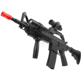350 FPS Airsoft WellFire Heavy Version M4 Adaptive Rail Spring Rifle