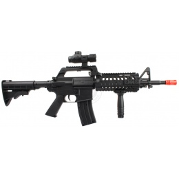 WellFire Heavy Version M4 Adaptive Rail Spring Rifle