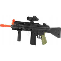 WellFire D33-Airsoft Spring Rifle w/ Flashlight + Scope + Foregrip