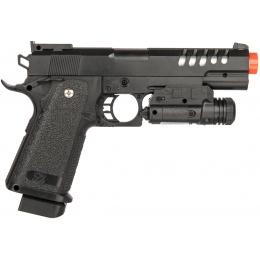 WellFire Airsoft XK918A 1911 Spring Pistol w/ Laser