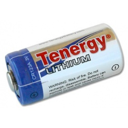 Tenergy Lithium Propel 3V 1400 mAh CR123A Battery - G900 Flashlights