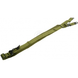 AMA HEAVY WEAPONS 2-Point Airsoft Sling - OD GREEN