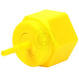 Airsoft Gas Blowback Plastic Propane Adaptor w/ Cap