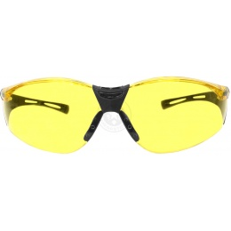 P-force Polycarbonate Protective Shooting Glasses - YELLOW LENS