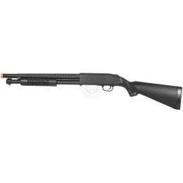 AGM M300 Tactical Full Stock Pump Action Spring Airsoft Shotgun