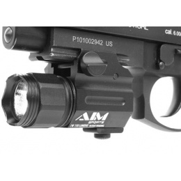 AIM Sports 150 Lumen Sub-Compact Flashlight w/ QD Weaver Mount