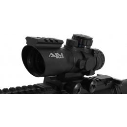 AIM Sports 4x32 Airsoft Red/Green/Blue Dot Scope V2